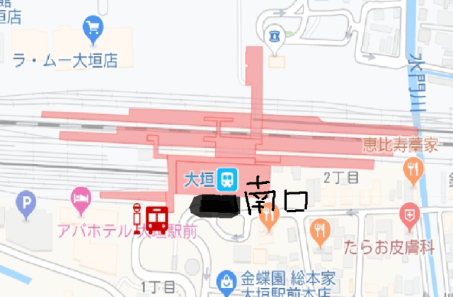 大垣競輪場 無料バス乗り場